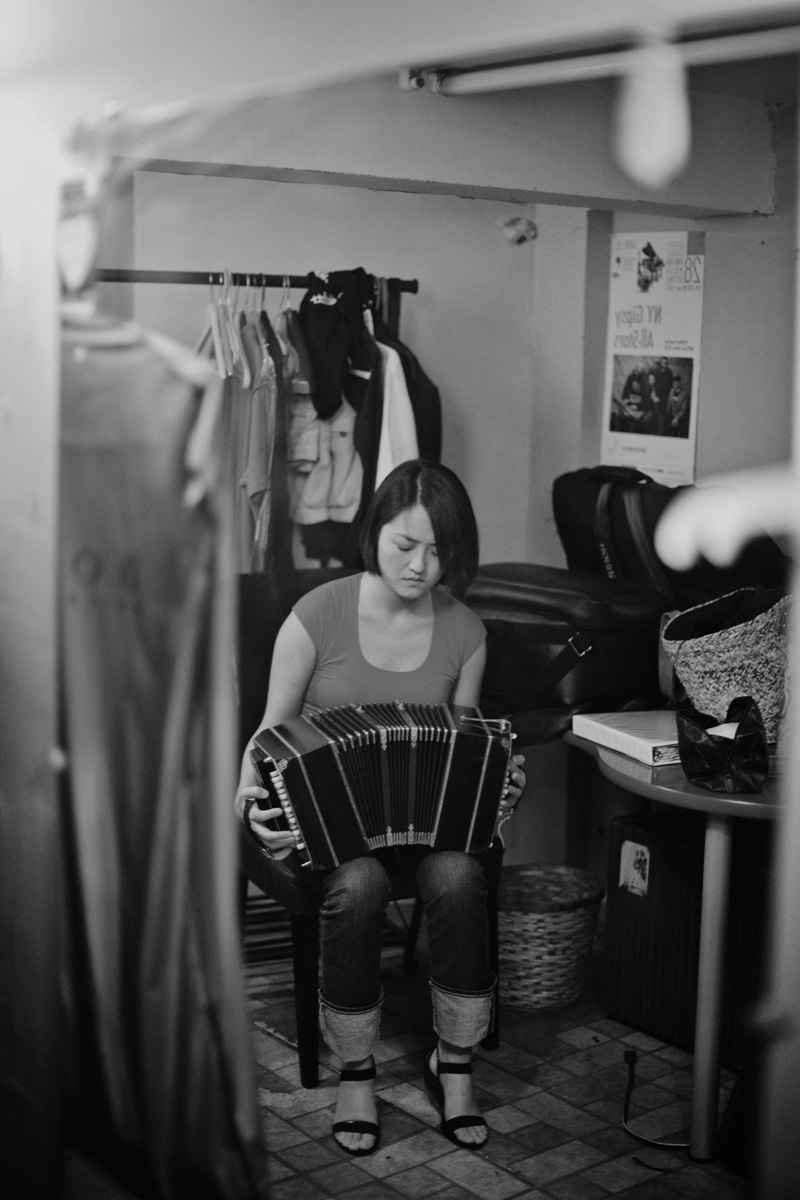 w Bandoneon in BW